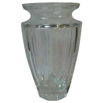 """Huge Moser ETERNITY 12.25"""" Vase, Signed"""