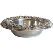 Kirk REPOUSSE Sterling Silver Fruit Bowl, # 219 AF