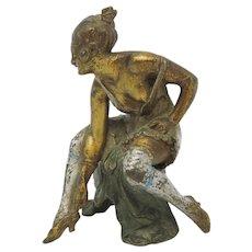 EROTIC Cold Painted Vienna Bronze w/ Hidden Nude!