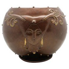 "ERTE Bronze Bowl ""Fruit of Life"" (Romain de Tirtoff)"