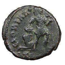 4th Century A.D. Ancient Roman Coin, Constantinian Dynasty, Bronze Follis