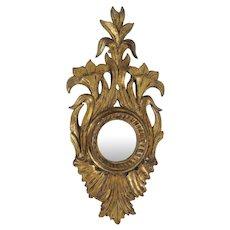Antique French Sorcerer Mirror / Oeuil de Sorcerer