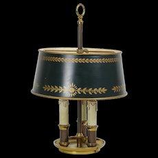 French Vintage Bouillotte Lamp