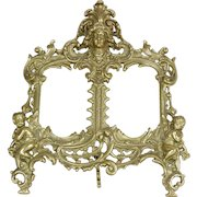 Brass Antique French Picture Frame