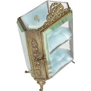 Large French Antique Jewellery Casket