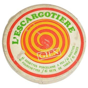 Vintage Escargot set