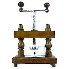 Antique French Apothecary Press