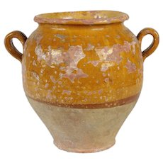 French Antique Confit Pot