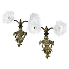Pair of French Empire Wall Sconces