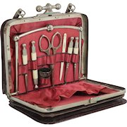 French Antique Sewing Kit