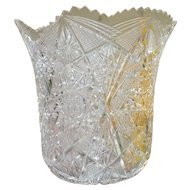Amazing Vintage American Cut Glass Champagne Bucket