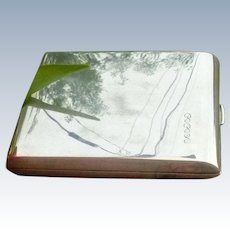 Fabulous Sterling Silver Cigarette Case