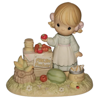 Precious Moments Artist Hand Signed Retired Figurine