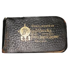 1890 Pitkin & Brooks Importers Complimentary Notepad