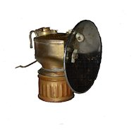 JustRight Streamlined Carbide Miners Lamp Picher Oklahoma