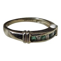 10k Gold Emerald Ring