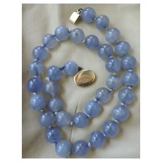 Vintage Chalcedony Necklace