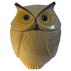 Owl Cookie Jar - PoppyTrail