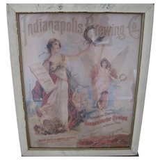 Indianapolis Brewing Co. 1904 Advertisement