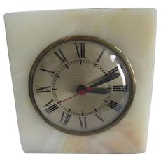 Clock: Sessions Onyx Electric Clock