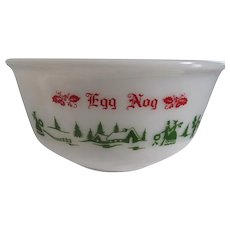 Vintage Egg Nog Bowl