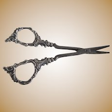 Sterling Silver Cuticle Scissors