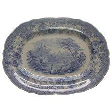 Antique Ridgway Transferware Platter