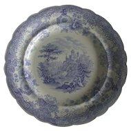 Antique: William Ridgway Transferware Plate