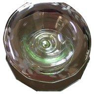 Fostoria Sauce Bowl with Ladle & Underplate