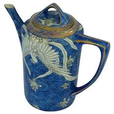 Chinese (or Japanese Art Nouveau) Phoenix Porcelain Tea Set
