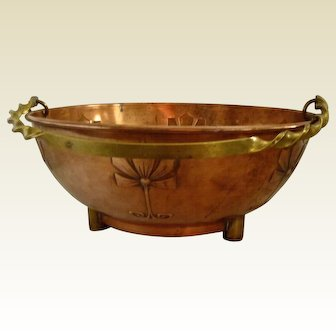 WMF Art Nouveau Copper Planter