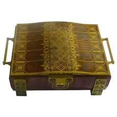 Erhard & Söhne Art Nouveau Jewellery Box