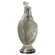 Etling (Sèvres), Paris Art Deco Figural Maiden