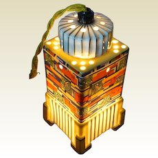 Art Deco Aerozon Perfume Lamp by Erdmann Schlegelmilch