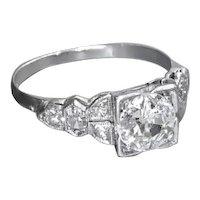Art Deco 1920s Diamond Engagement Ring