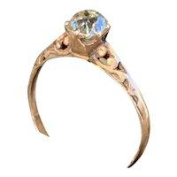 Victorian Old Mine Cut Diamond Engagement Ring