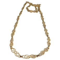 Tiffany & Co 18K Yellow Gold Long Link Chain Necklace