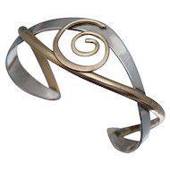 Courtney Designs Sterling Copper Cuff Bracelet