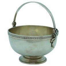 1875 J.E. Caldwell Sterling Basket Dr. Samuel Howe American Silver