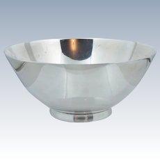 Vintage Tiffany & Co Sterling Silver Candy Bowl Trinket Deco Retro Heavy