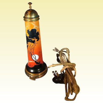 Art Deco DeVilbiss Perfume Lamp