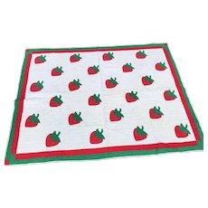 Strawberry Quilt