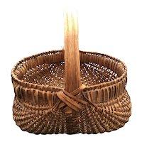 Southern Splint Oak Basket
