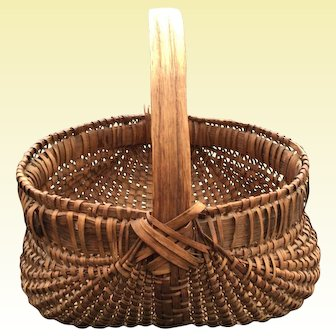 Southern Splint Oak Basket