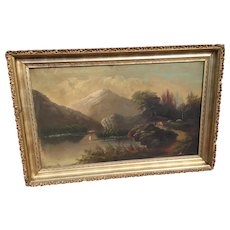 Hudson River School Oil Painting