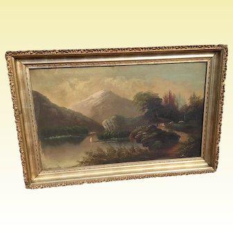 Hudson River School Oil Painting
