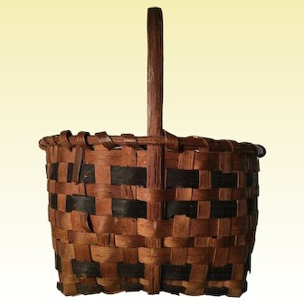 Splint Oak Basket