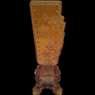Vintage Amethyst Czech Perfume Bottle c.1920s