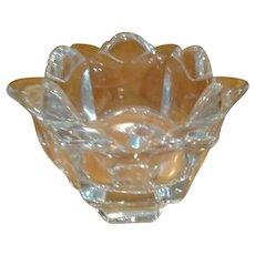 SIGNED Alberius - Orrefors 12 Petal Crystal Tulip Vase