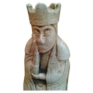 Netsuke King Figurine